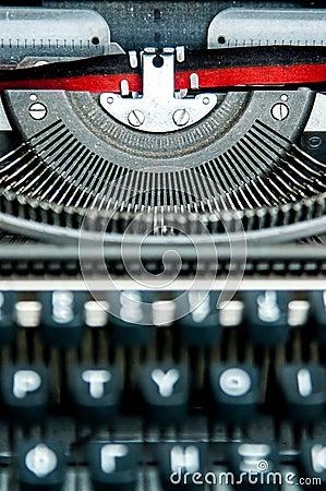 Old greek - english typewriter