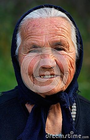 Old Greek lady