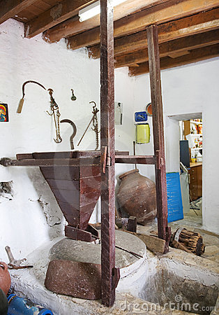 Old Greek Water Mill