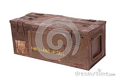 Old Grenade Box