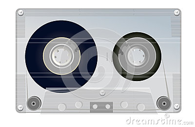 Old grey tape