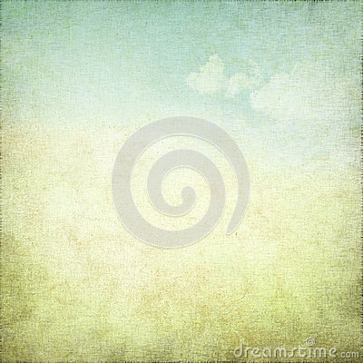 Free Old Grunge Background With Delicate Abstract Canvas Texture And Blue Sky View Stock Photo - 26100880