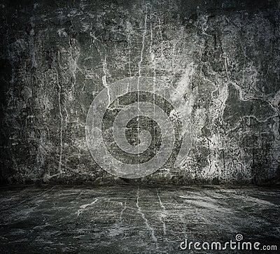 Old grunge room