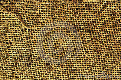 Old grunge sack cloth canvas texture