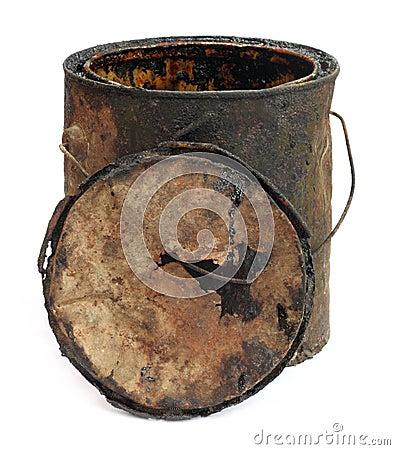 Free Old Grungy Bucket Stock Photos - 17794113