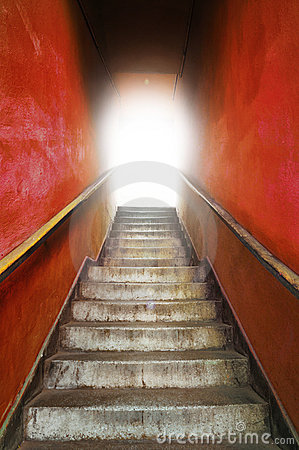 Free Old Grungy Stairs Stock Images - 19823364