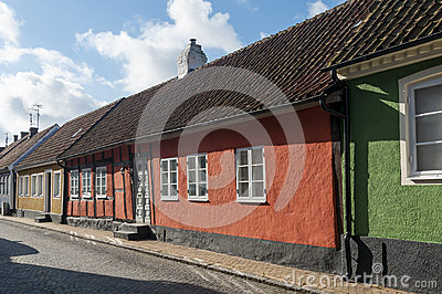 The old guesthouse, Simrishamn Editorial Photography