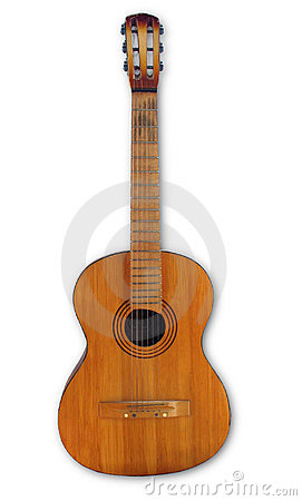 Free Old Guitar Stock Photography - 319252