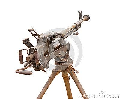 Old gun at museum