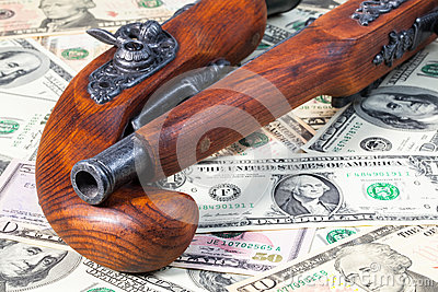 Old guns and money and money