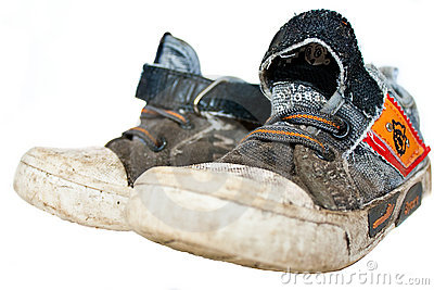 old gym shoes