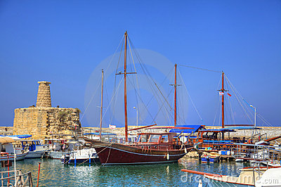 Old habour in Cyprus