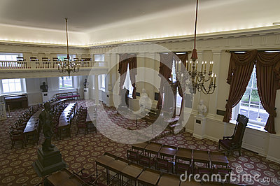 The Old Hall of the House of Delegates Editorial Image