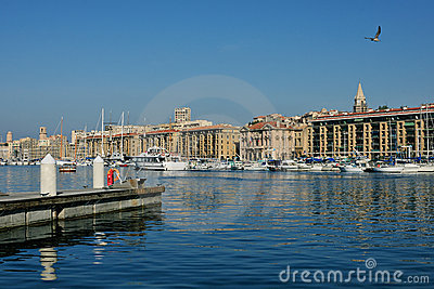 Old harbor of Marseille