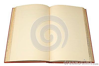 An old hardback book