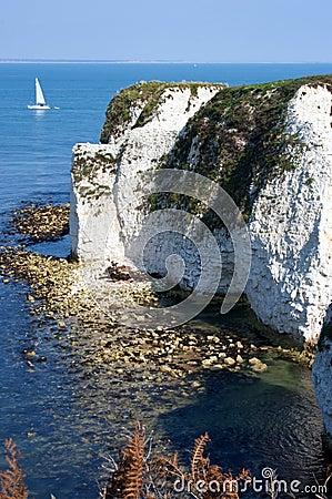 Old Harry Rocks in Dorset
