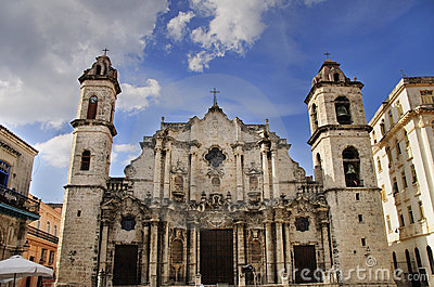 Old havana Cathedral