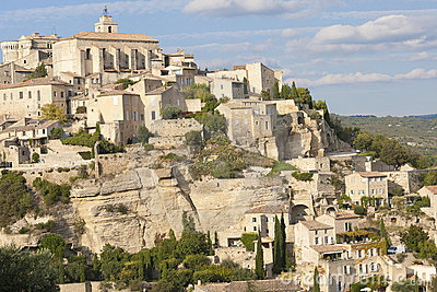 Old hilltop village of Gordes in Provence