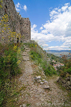 The old and historic castle of Karytaina