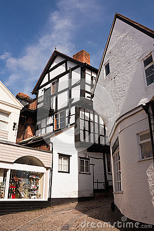 Old Historic Town Street, England