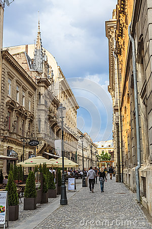 Old Historical Center Lipscani Royalty Free Stock Photo - Image: 29330555