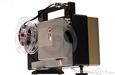 Old home cinema projector