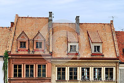 Old home in Sandomierz