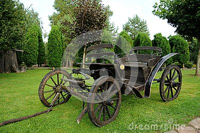 Old horse-drawn carriage