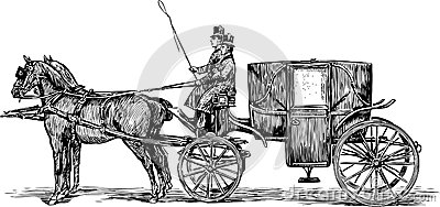Horse And Carriage Clipart - Clipart Kid