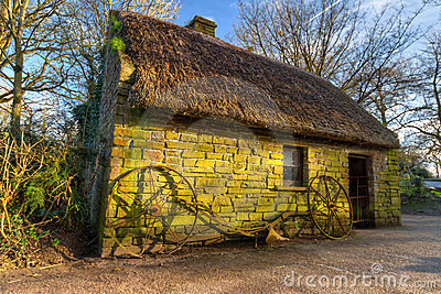 Old house in Bunratty Folk Park