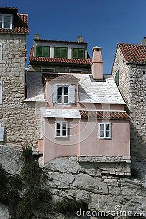 Old house exterior Split
