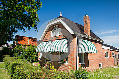 Old house in Friesland