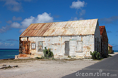 Old house in Grand Turk