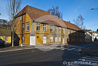 Old house in Halden. (Civic Center)