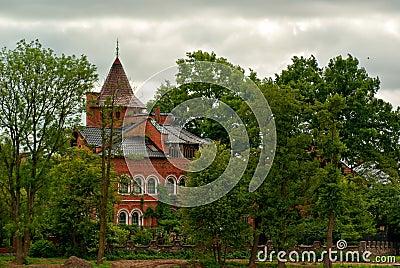 Old house in Kaliningrad