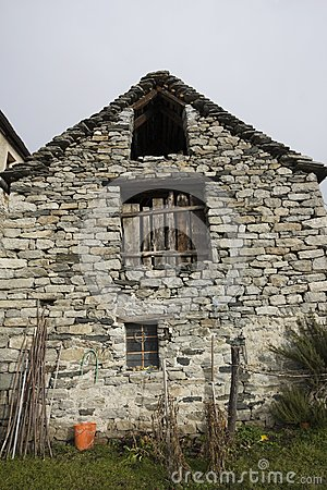 Old house made of stone