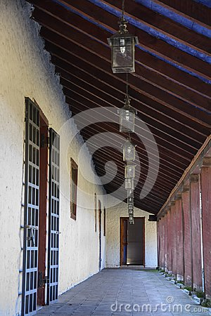 Free Old House Of Colonial Architecture In Chile Royalty Free Stock Images - 113760959