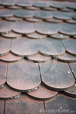 Free Old House Red Roof Tiles Royalty Free Stock Photography - 28509657