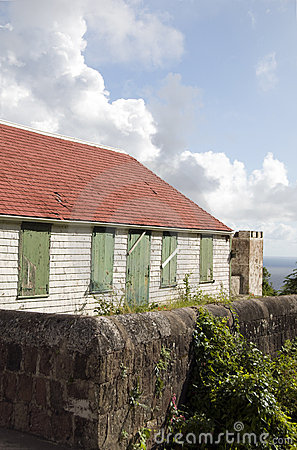 Old house Saba Dutch   Antilles