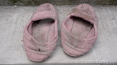 Old house shoes