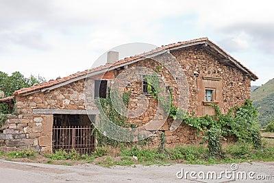 Old House of Stone in Mogrovejo.