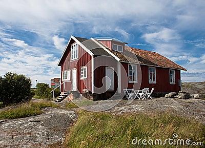 Old house on a swedish island
