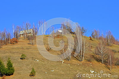 Old house on top of the hill