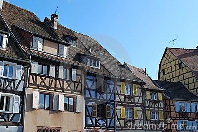 Old houses in Colmar