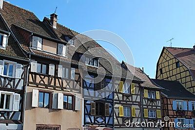 Old houses in Colmar