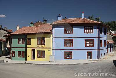Old Houses from Eskisehir