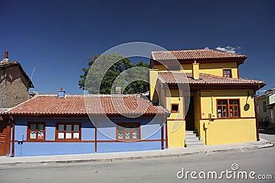 Old Houses from Eskisehir