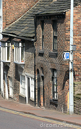 Old Houses in Macclesfield Cheshire
