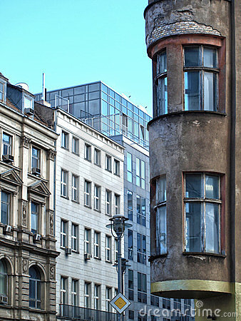 Old houses, new houses in berlin