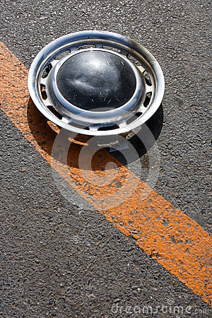 Free Old Hubcap Stock Photo - 29486110